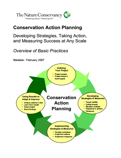 conservation action planning developing strategies taking action