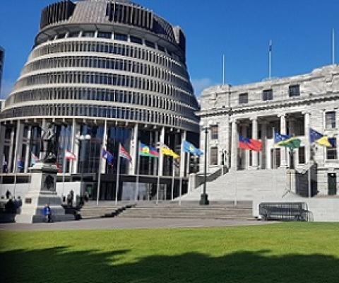 New Zealand Parialemt house, Wellington. credit - https://www.parliament.nz/