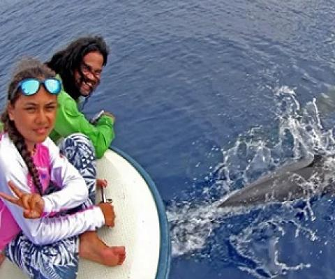11-year-old Palauan girl discovers new species of dolphin in PNMS. Credit - Ron Leidich