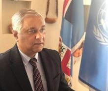 Fiji's Permanent Representative to the United Nations (UN) Ambassador Satyendra Prasad. Picture: SUPPLIED